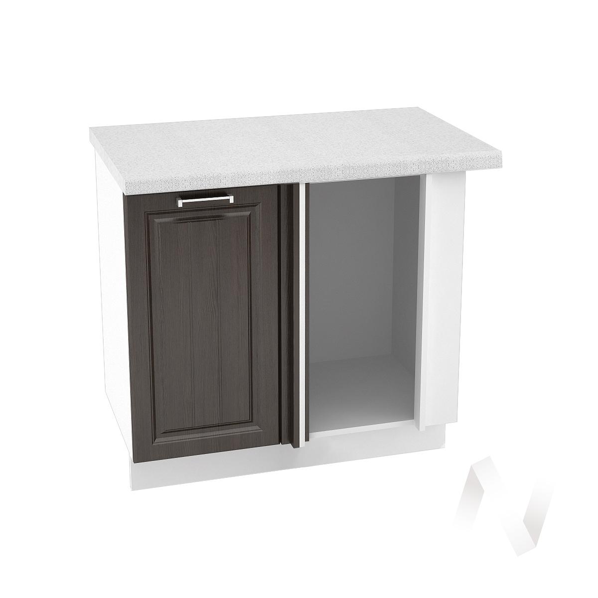 """Купить кухня """"прага"""": шкаф нижний угловой 990м, шну 990м (венге/корпус белый) в Новосибирске в интернет-магазине Мебель плюс Техника"""