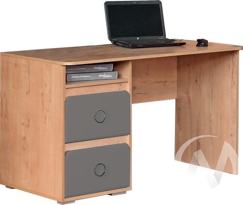 Скай М1 Стол компьютерный (дуб бунратти/графит)