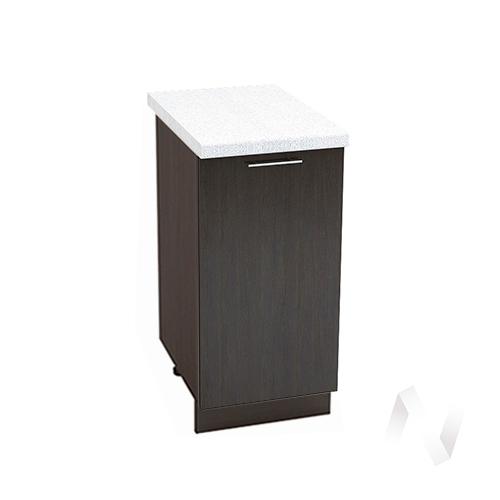 "Кухня ""Валерия-М"": Шкаф нижний 400, ШН 400 (венге/корпус венге)"