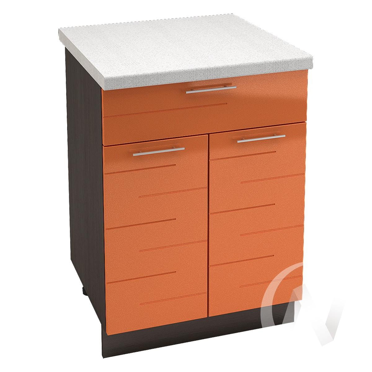 "Кухня ""Техно"": Шкаф нижний с ящиком 600, ШН1Я 600 М (корпус венге)"