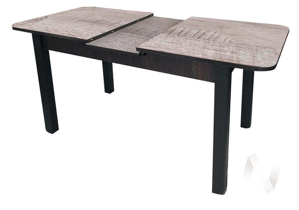 Стол раздвижной Баут (венге/дуб аляска 523/массив венге)