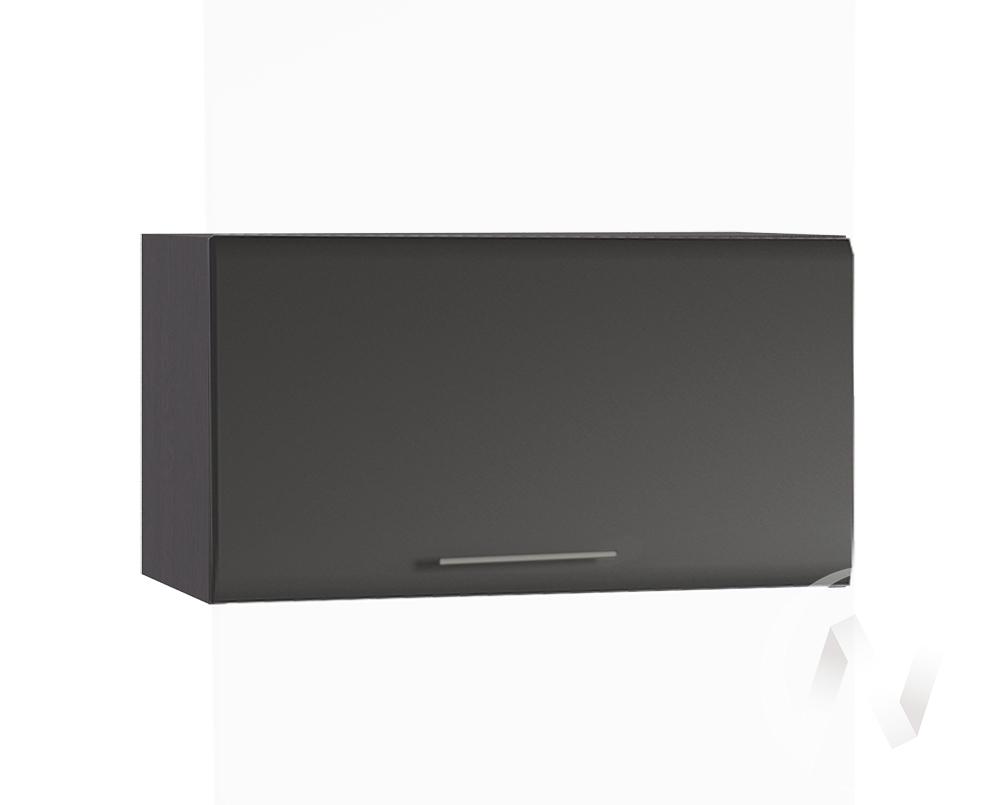 """Кухня """"Люкс"""": Шкаф верхний горизонтальный 600, ШВГ 600 (Шелк венге/корпус венге)"""