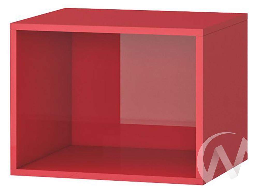 Куб Прихожая Милан (акрил красный)