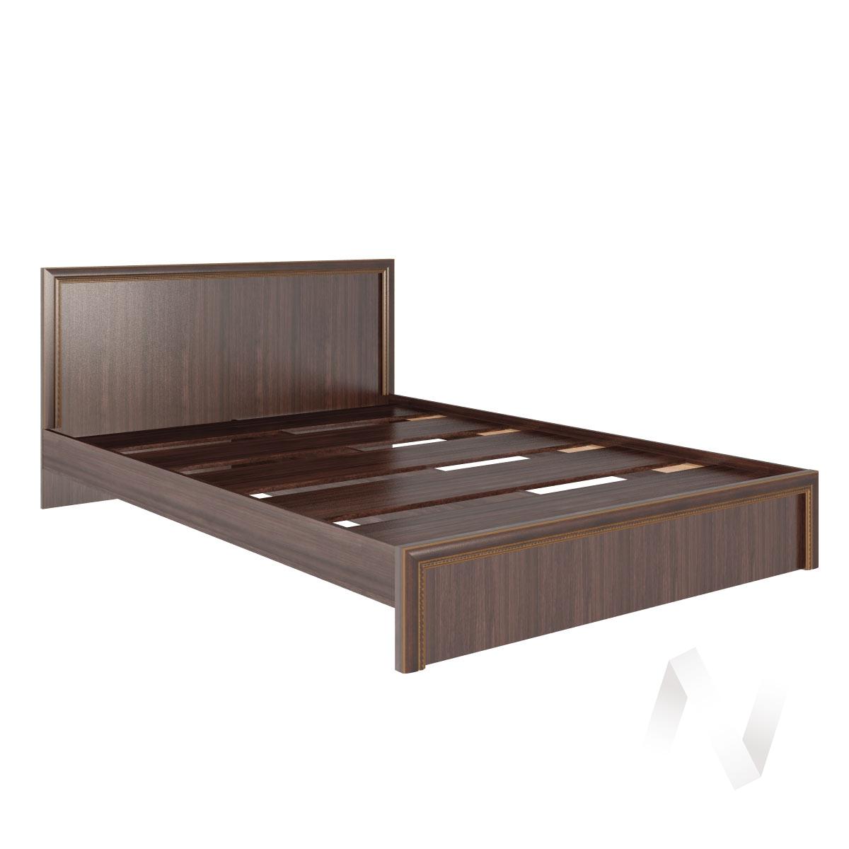 Кровать стандарт 1,4 М16 Спальня Беатрис (орех гепланкт)