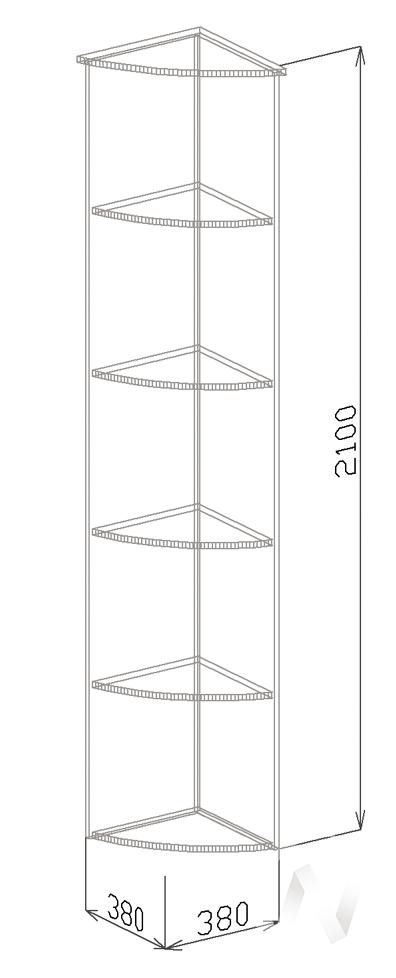 Угол №1 Прихожая София (венге)  в Томске — интернет магазин МИРА-мебель