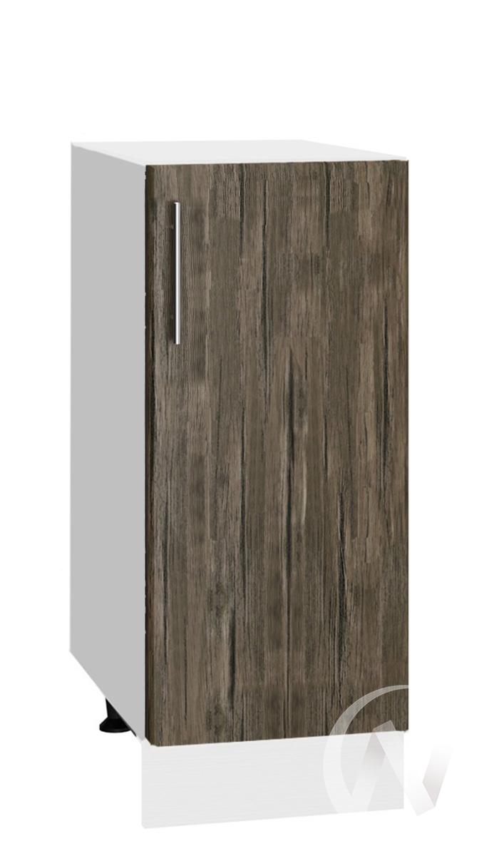 "Кухня ""Норден"": Шкаф нижний 300, ШН 300 (старое дерево/корпус белый)"