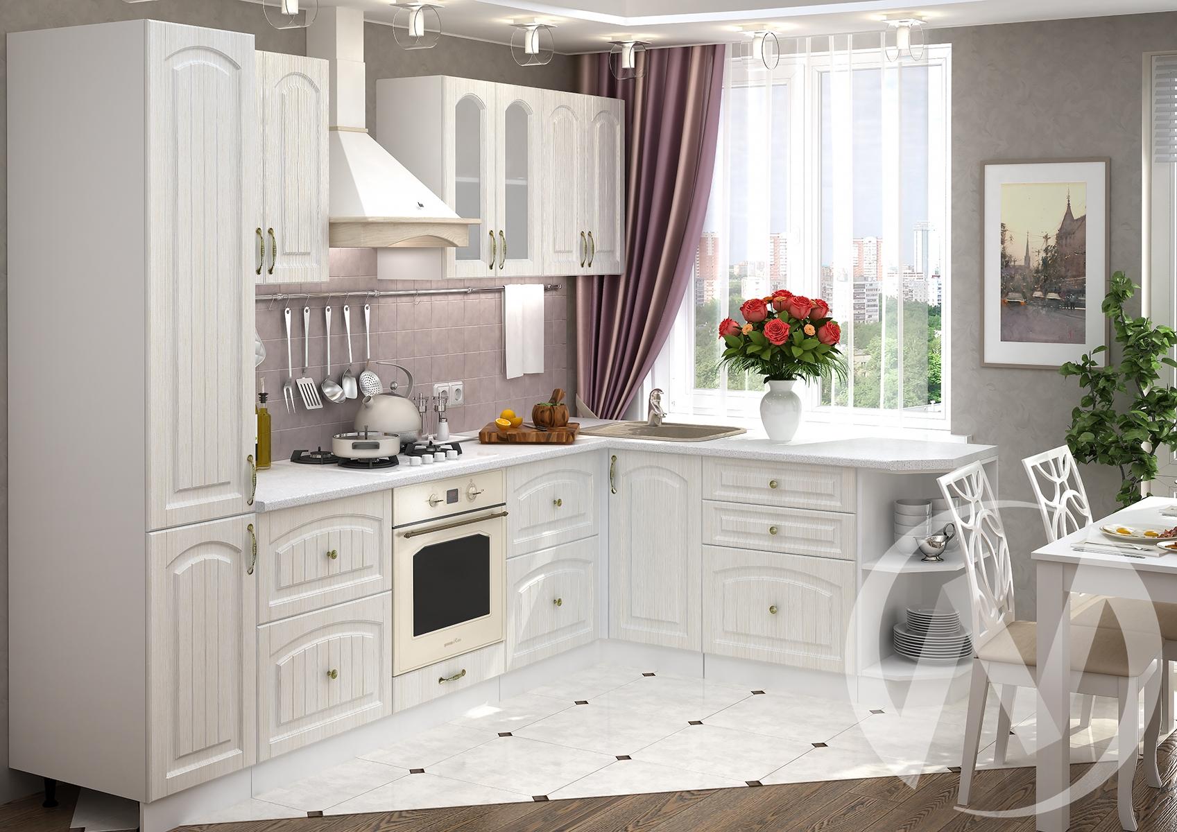 """Купить кухня """"верона"""" (корпус белый) в Иркутске в интернет магазине Мебель Максимум"""