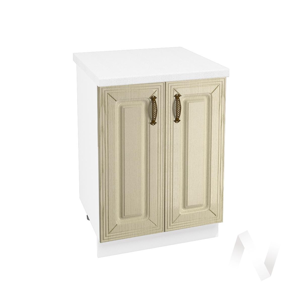 "Кухня ""Изабель"": Шкаф нижний 600, ШН 600 (корпус белый)"