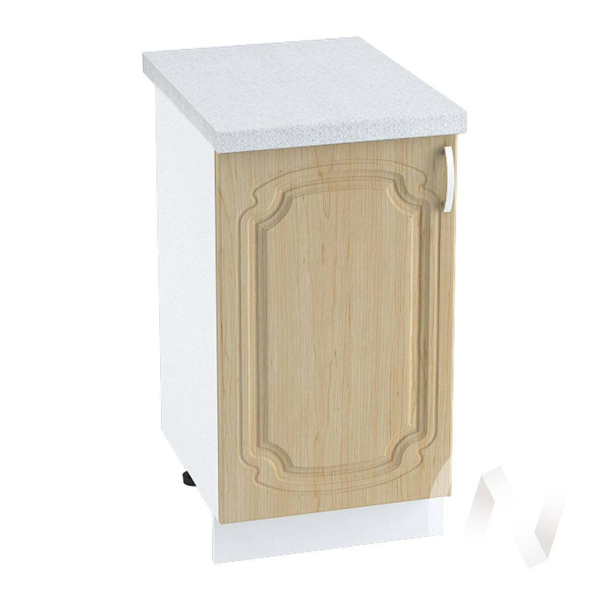 "Кухня ""Настя"": Шкаф нижний 450, ШН 450 (Береза/корпус белый)"
