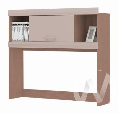Надстройка стола Симба (шимо темный/кофе с молоком)  в Томске — интернет магазин МИРА-мебель