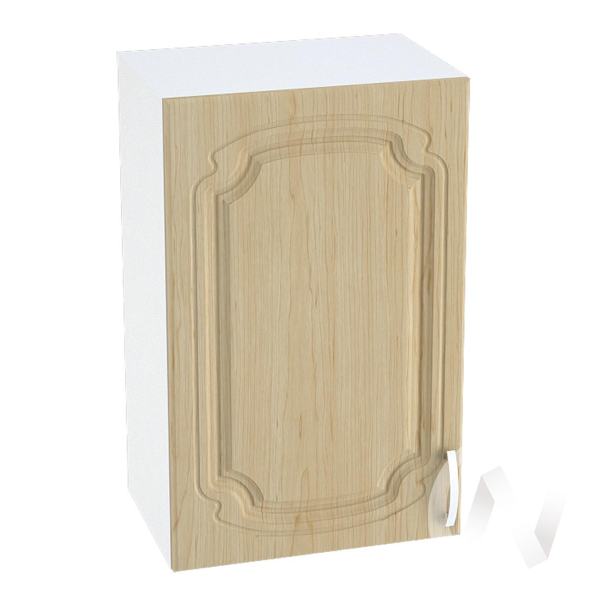 "Кухня ""Настя"": Шкаф верхний 450, ШВ 450 (Береза/корпус белый)"