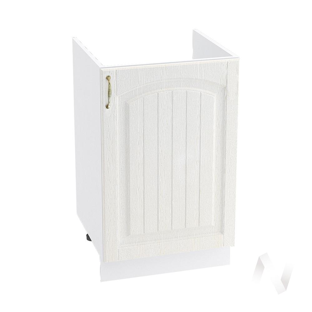 """Кухня """"Верона"""": Шкаф нижний под мойку 500 правый, ШНМ 500 (ясень золотистый/корпус белый)"""