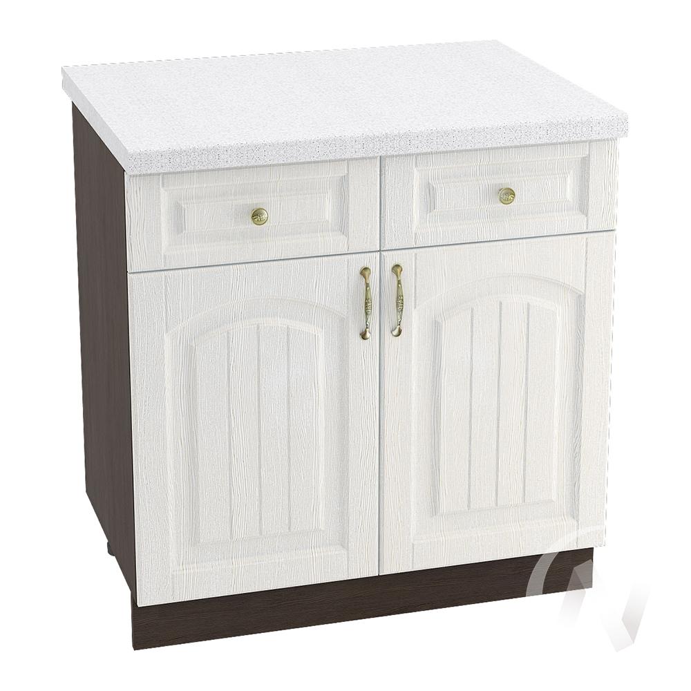 """Кухня """"Верона"""": Шкаф нижний с ящиками 800, ШН1Я 800 (ясень золотистый/корпус венге)"""