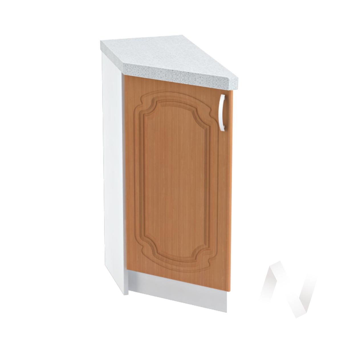 """Кухня """"Настя"""": Шкаф нижний торцевой 300, ШНТ 300 (Орех миланский/корпус белый)"""