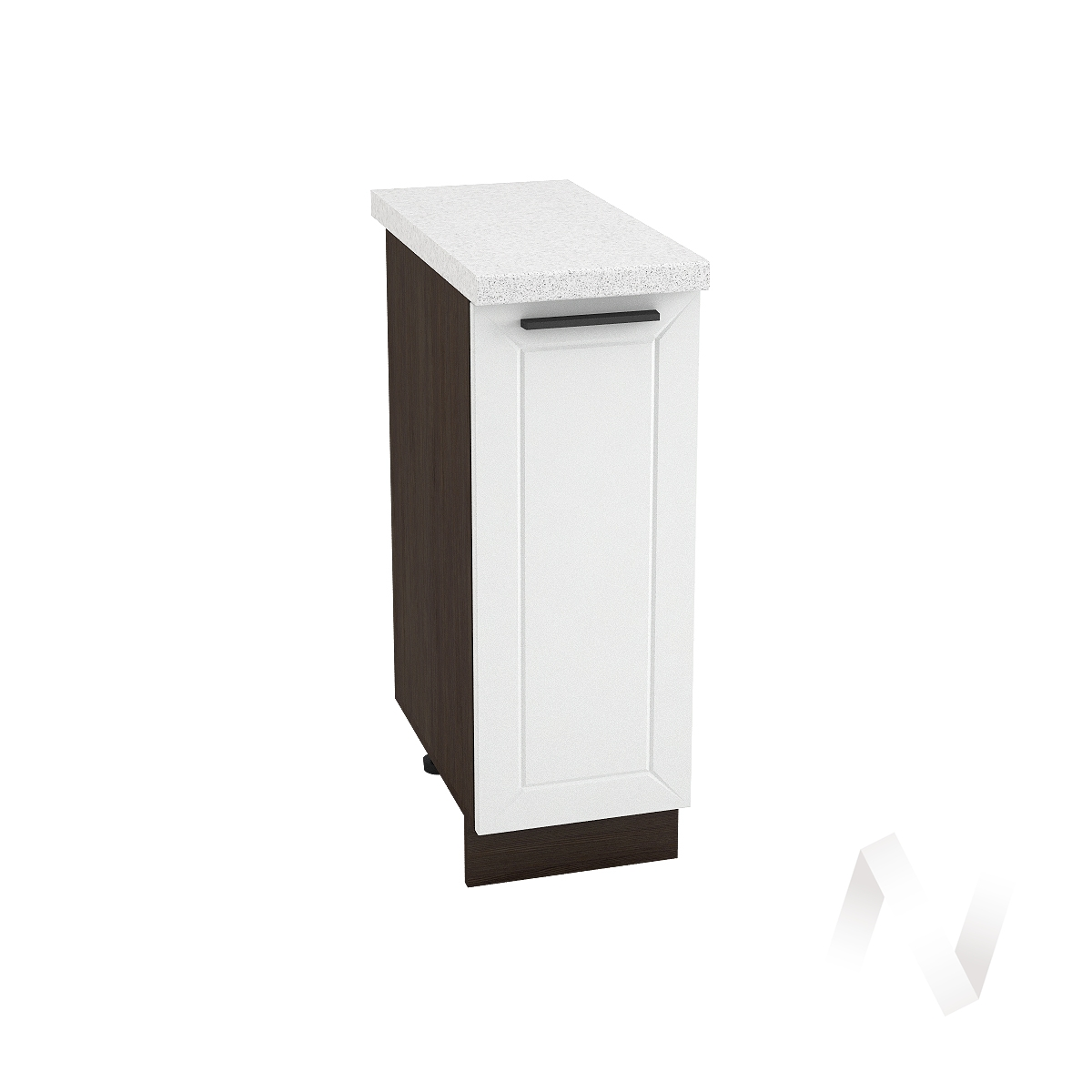 "Кухня ""Глетчер"": Шкаф нижний 300, ШН 300 (Айленд Силк/корпус венге)"