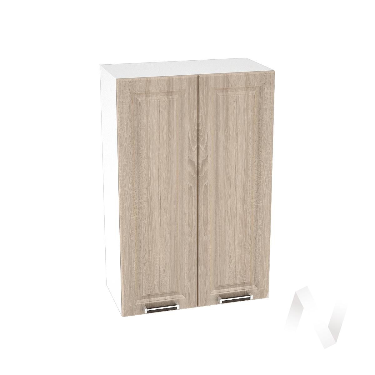 """Купить кухня """"прага"""": шкаф верхний 600, шв 600 (дуб сонома/корпус белый) в Новосибирске в интернет-магазине Мебель плюс Техника"""
