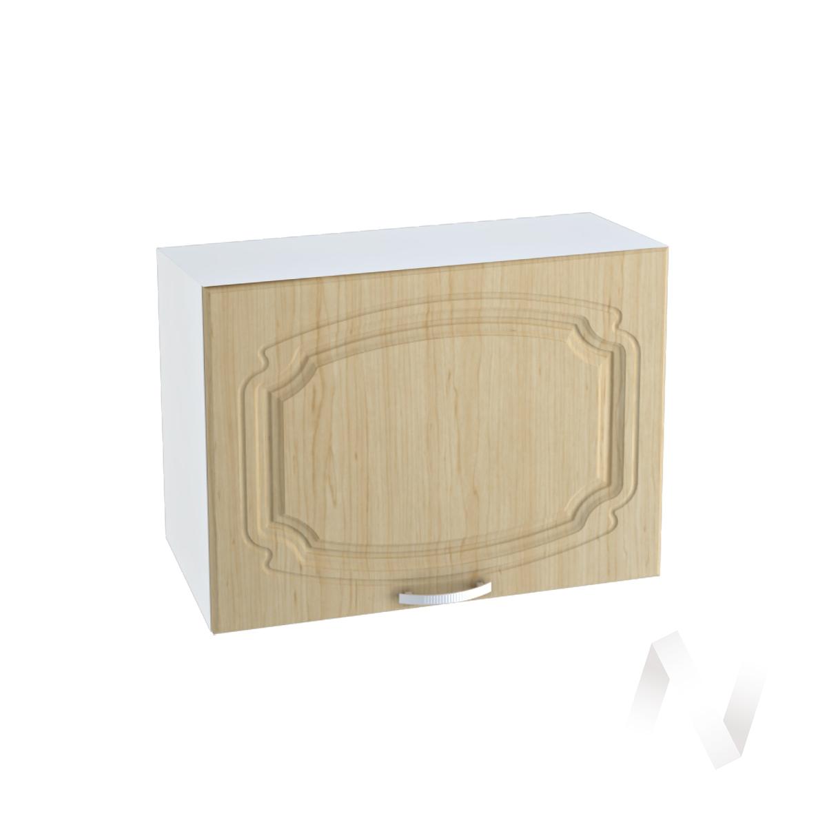"""Кухня """"Настя"""": Шкаф верхний горизонтальный 609, ШВГ 609 (Береза/корпус белый)"""