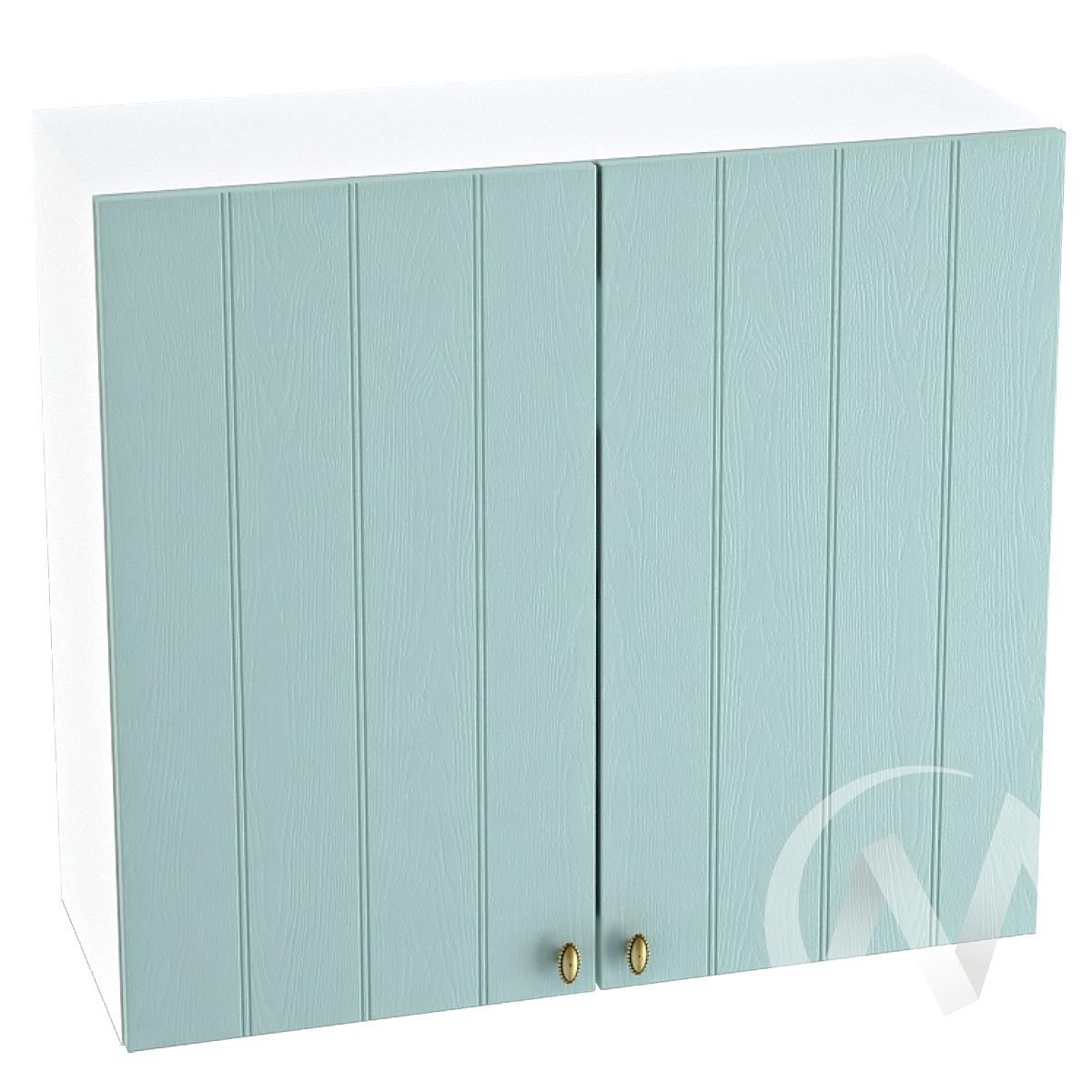 "Кухня ""Прованс"": Шкаф верхний 800, ШВ 800 (голубой/корпус белый)"