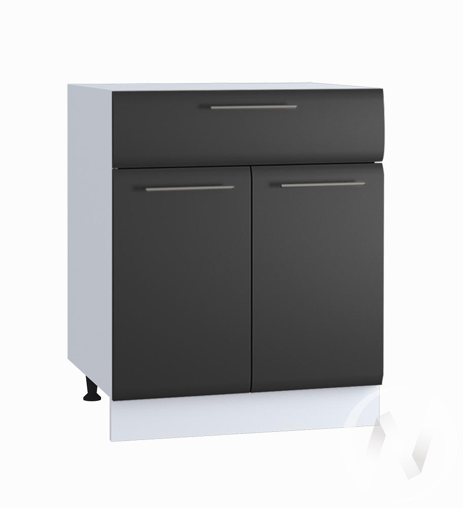 """Кухня """"Люкс"""": Шкаф нижний с ящиком 600, ШН1Я 600 М (Шелк венге/корпус белый)"""