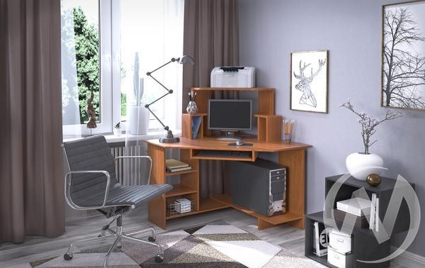 Компьютерный стол СК-11 угловой (миланский орех)