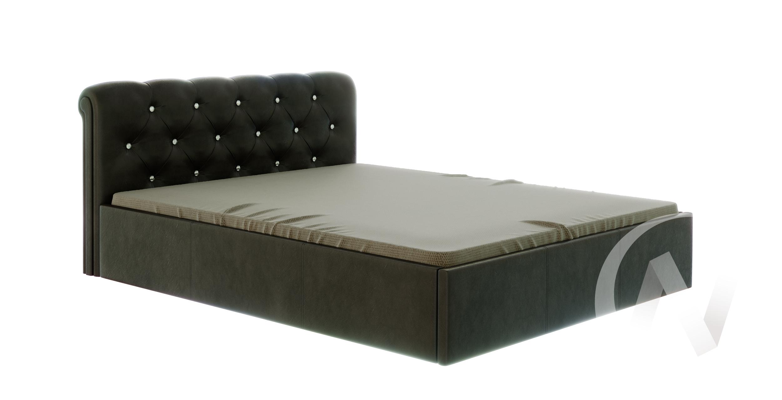 Кровать Калипсо 1,6 (коричневый)  в Томске — интернет магазин МИРА-мебель