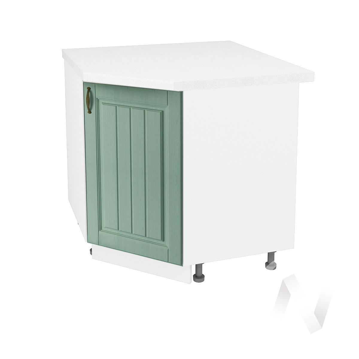 """Кухня """"Прованс"""": Шкаф нижний угловой 890, ШНУ 890 (корпус белый)"""