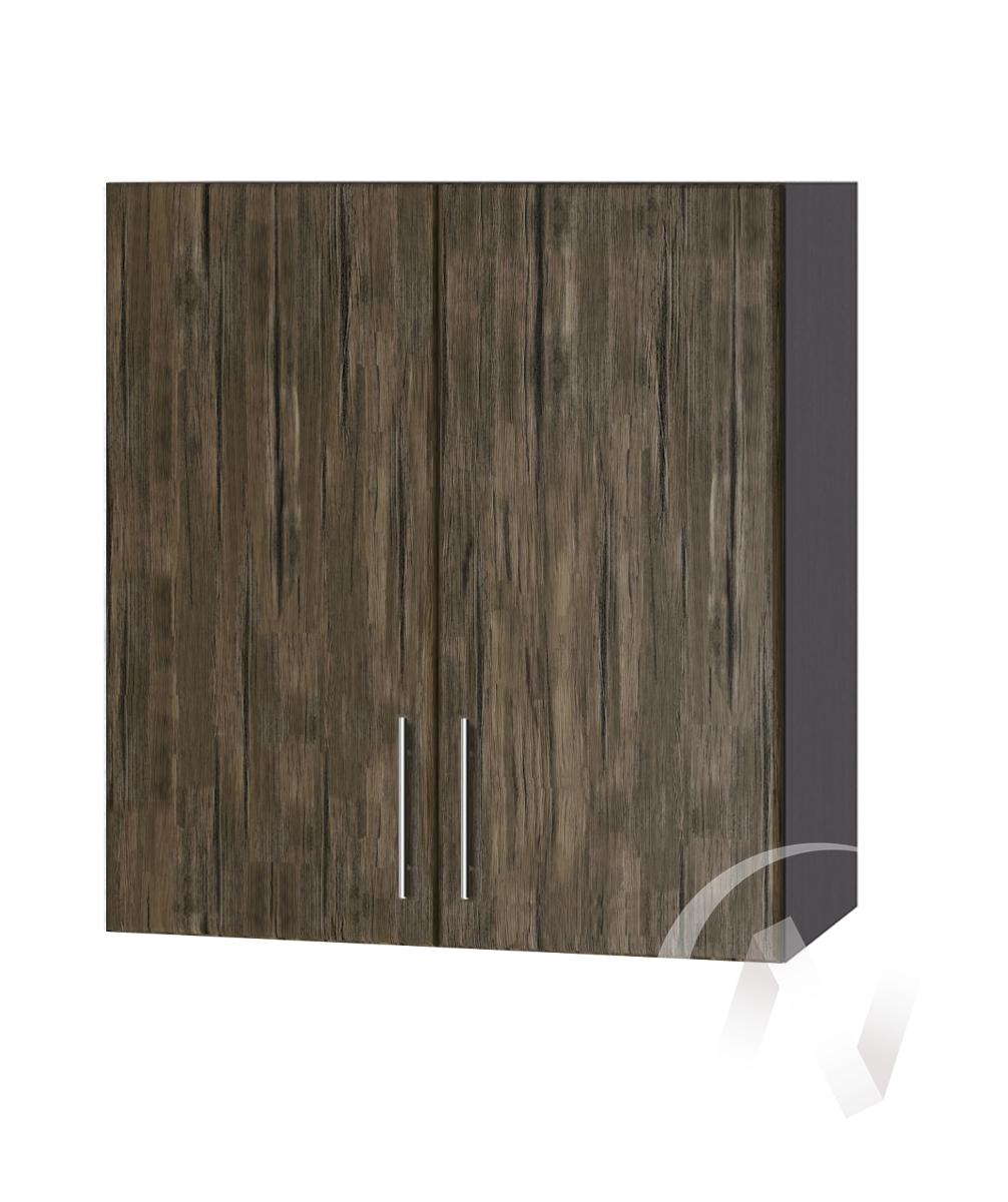 """Кухня """"Норден"""": Шкаф верхний 600, ШВ 600 (старое дерево/корпус венге)"""