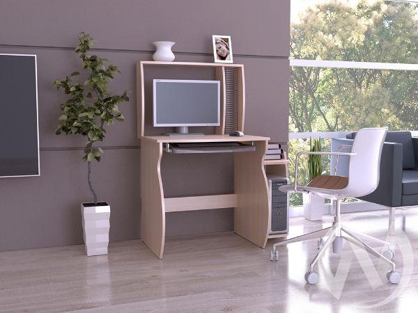 Компьютерный стол КС 6 (дуб сонома)