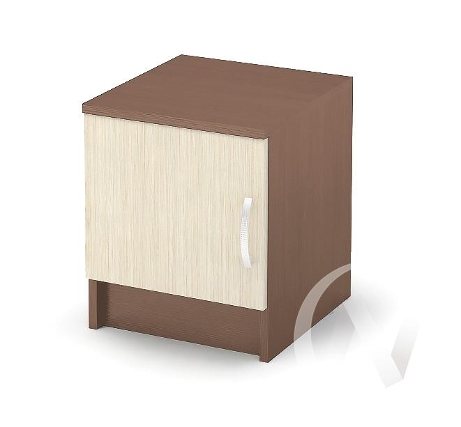 Бася Тумба прикроватная ЛДСП(ясень шимо темный/ясень шимо светлый) ТБ 551  в Томске — интернет магазин МИРА-мебель