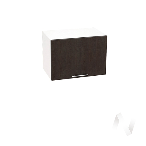 """Кухня """"Валерия-М"""": Шкаф верхний горизонтальный 500, ШВГ 500 (венге/корпус белый)"""