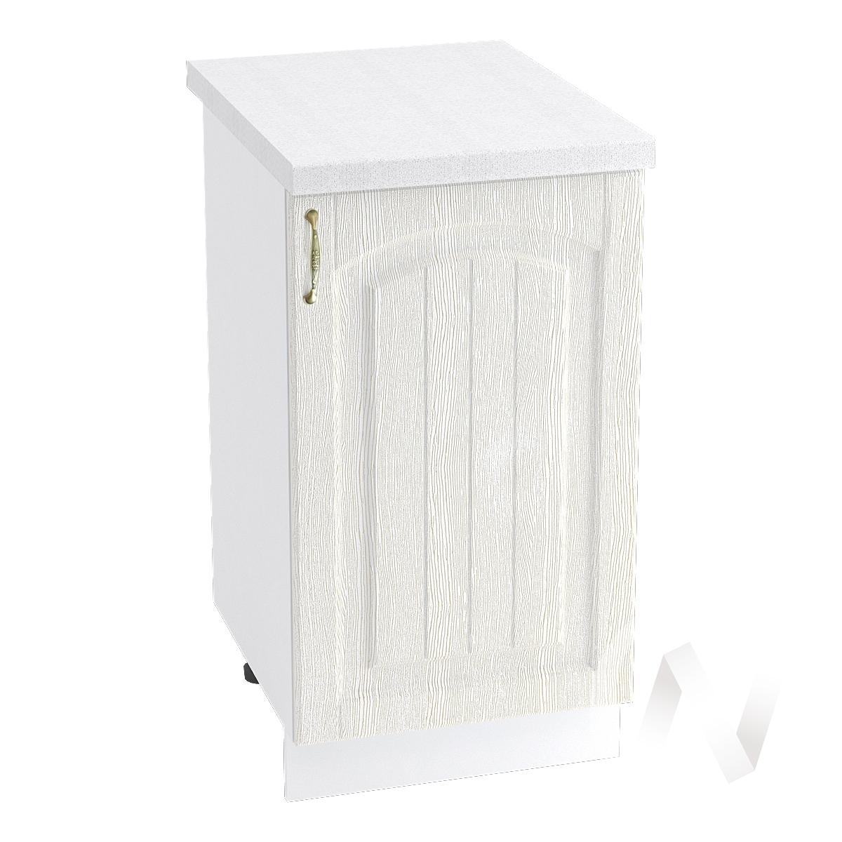 """Кухня """"Верона"""": Шкаф нижний 450 правый, ШН 450 (ясень золотистый/корпус белый)"""