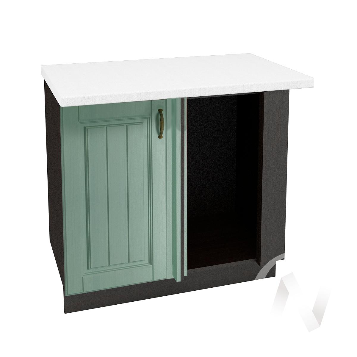 """Кухня """"Прованс"""": Шкаф нижний угловой 990, ШНУ 990 (корпус венге)"""