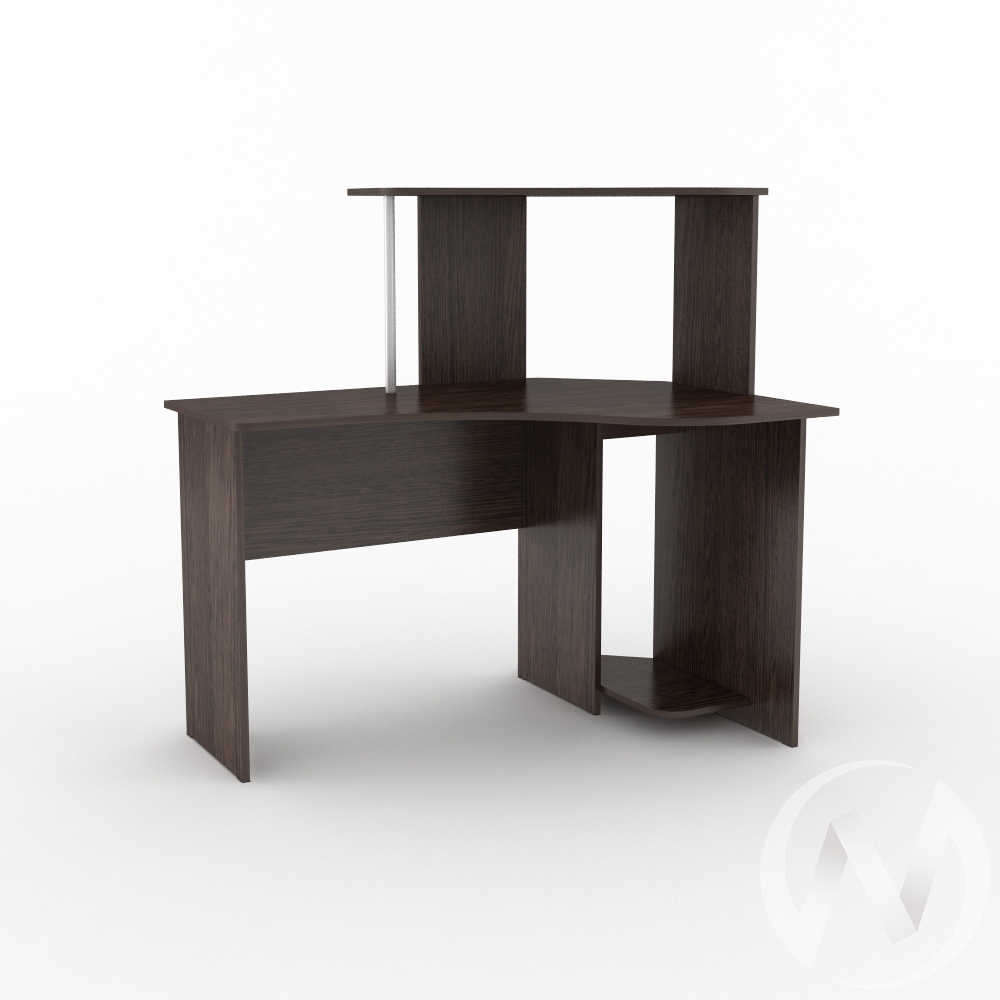 Компьютерный стол КС 1200 угловой (венге)  в Томске — интернет магазин МИРА-мебель