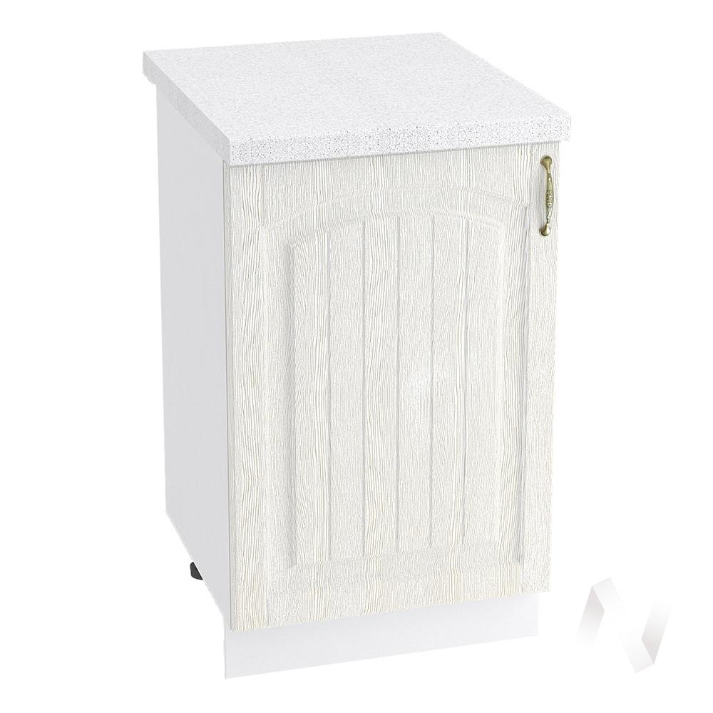 "Кухня ""Верона"": Шкаф нижний 500, ШН 500 (ясень золотистый/корпус белый)"