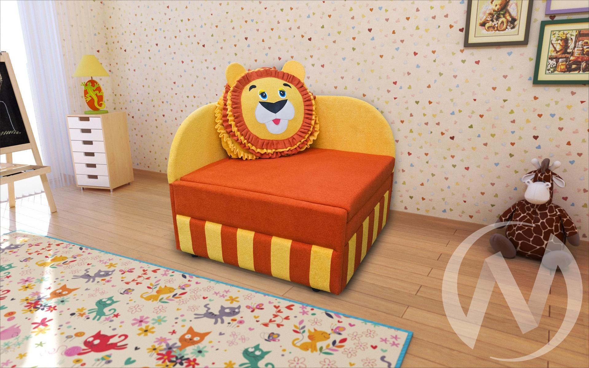 Лев диван детский левый недорого в Томске — интернет-магазин авторской мебели Экостиль