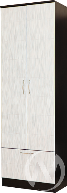 Шкаф 2х створчатый Прихожая София (венге-белый дым)