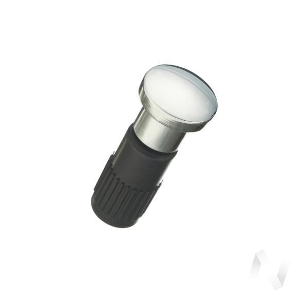 Заглушка для держателя рейлинга модерн хром
