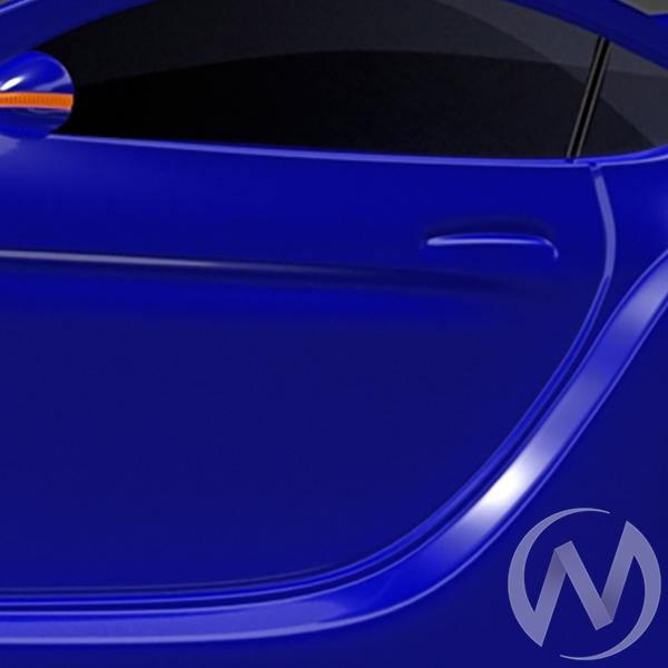 Кровать машинка Junior с матрасом с фирменными полосками и ПМ (синий БМВ) с подсветкой  в Томске — интернет магазин МИРА-мебель