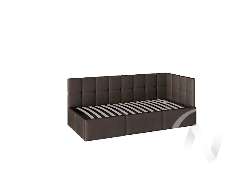 Кровать Оттава 0,9 с подъемным механизмом (коричневая)  в Томске — интернет магазин МИРА-мебель