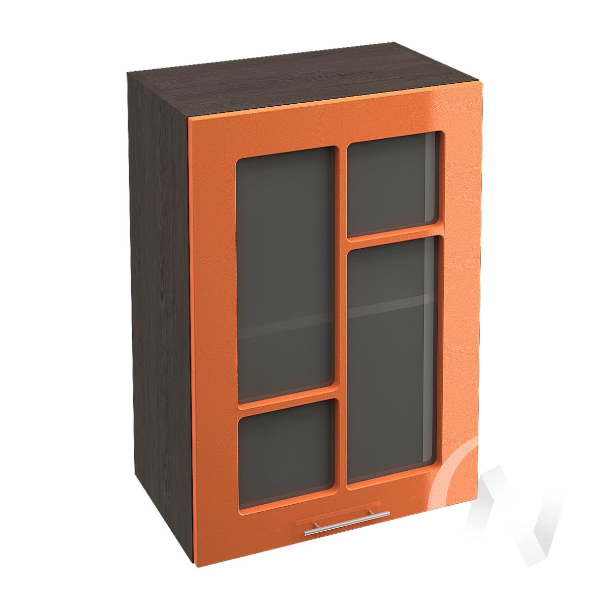 "Кухня ""Техно"": Шкаф верхний со стеклом 500, ШВС 500 (корпус венге)"