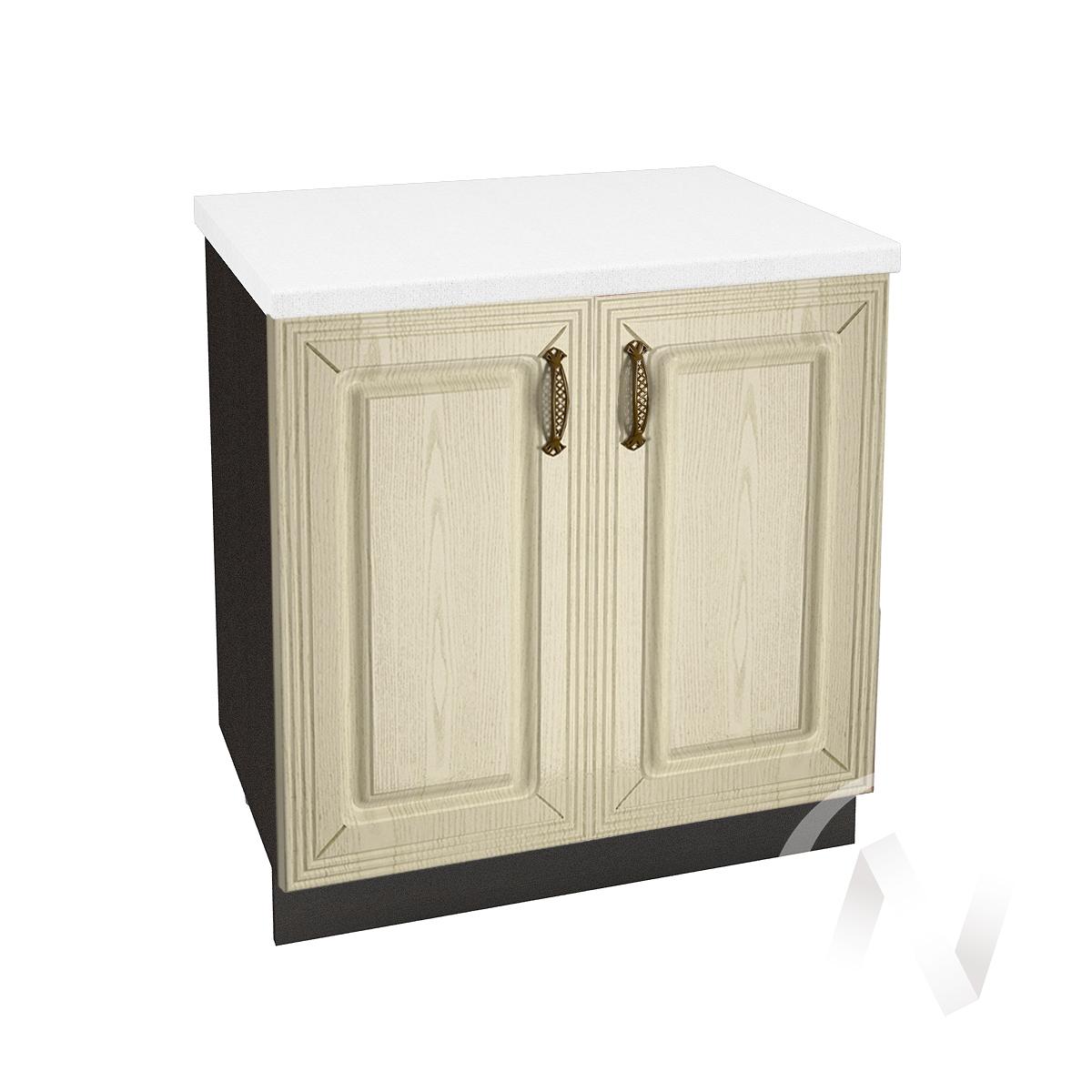 """Кухня """"Изабель"""": Шкаф нижний 800, ШН 800 (корпус венге)"""