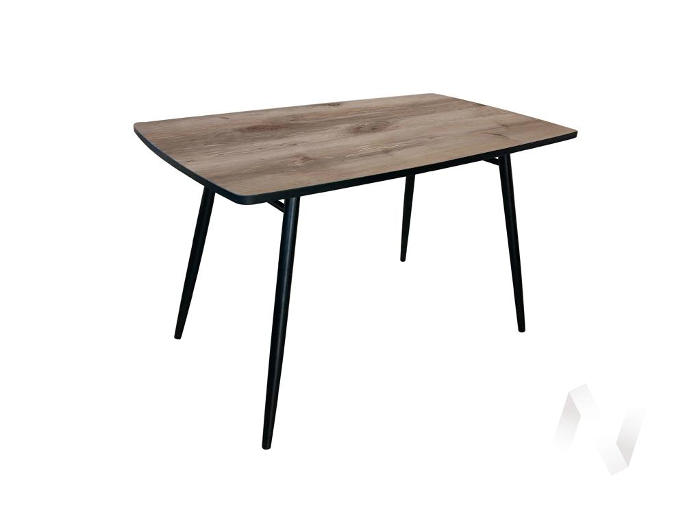 Стол Brick (венге/берёза сандал/металлокаркас черный) недорого в Томске — интернет-магазин авторской мебели Экостиль
