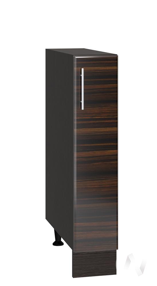 """Кухня """"Норден"""": Шкаф нижний бутылочница 150, ШНБ 150 (эбен/корпус венге)"""