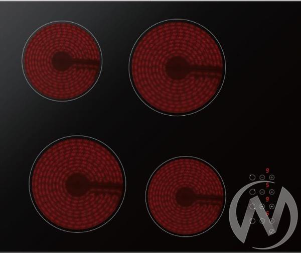 Электрическая варочная поверхность стеклокерамика MНЕ 61