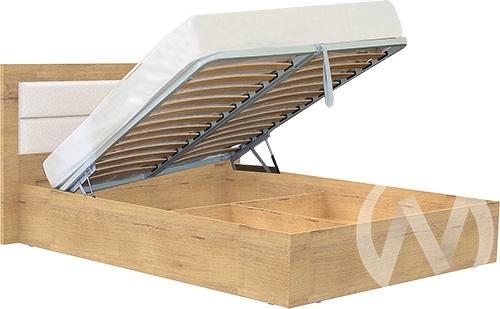 Светлана М17 Кровать 1,4 №2 с подъемным механихмом (дуб бунратти/бодега)