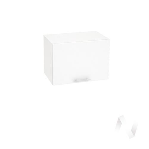 "Кухня ""Валерия-М"": Шкаф верхний горизонтальный 500, ШВГ 500 (белый металлик/корпус белый)"