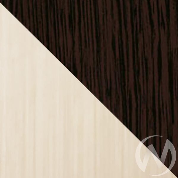 """Стеллаж """"Style-4"""" (венге, дуб млечный), стекло матовое  в Томске — интернет магазин МИРА-мебель"""
