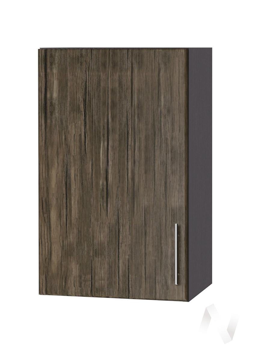 """Кухня """"Норден"""": Шкаф верхний 400, ШВ 400 (старое дерево/корпус венге)"""