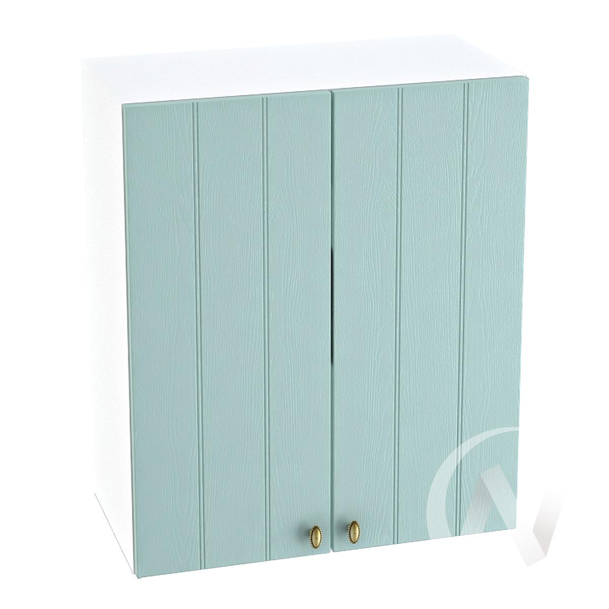 "Кухня ""Прованс"": Шкаф верхний 600, ШВ 600 (голубой/корпус белый)"