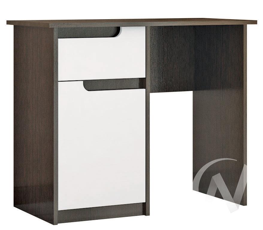 Стол макияжный Спальня Гавана (венге/акрил белый)  в Томске — интернет магазин МИРА-мебель
